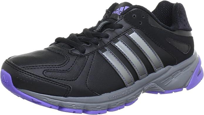 adidas Performance Duramo 5 Lea w - Zapatillas de Correr de Cuero ...