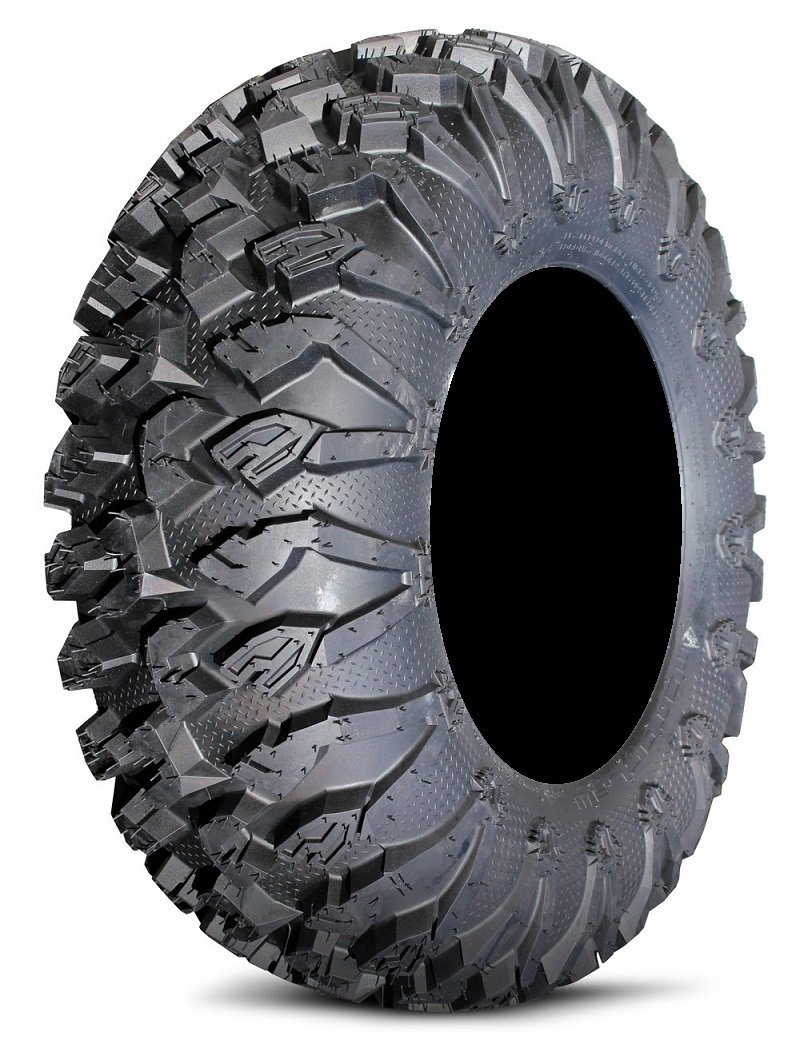 Full set of MotoSport EFX MotoClaw (6ply) 26x9-12 and 26x11-12 ATV Tires (4)