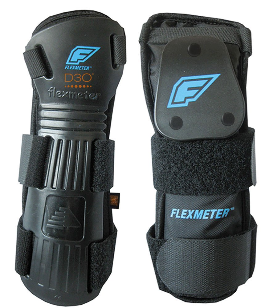 Flexmeter Double Sided Wrist Guards D3O (Small) by Flexmeter