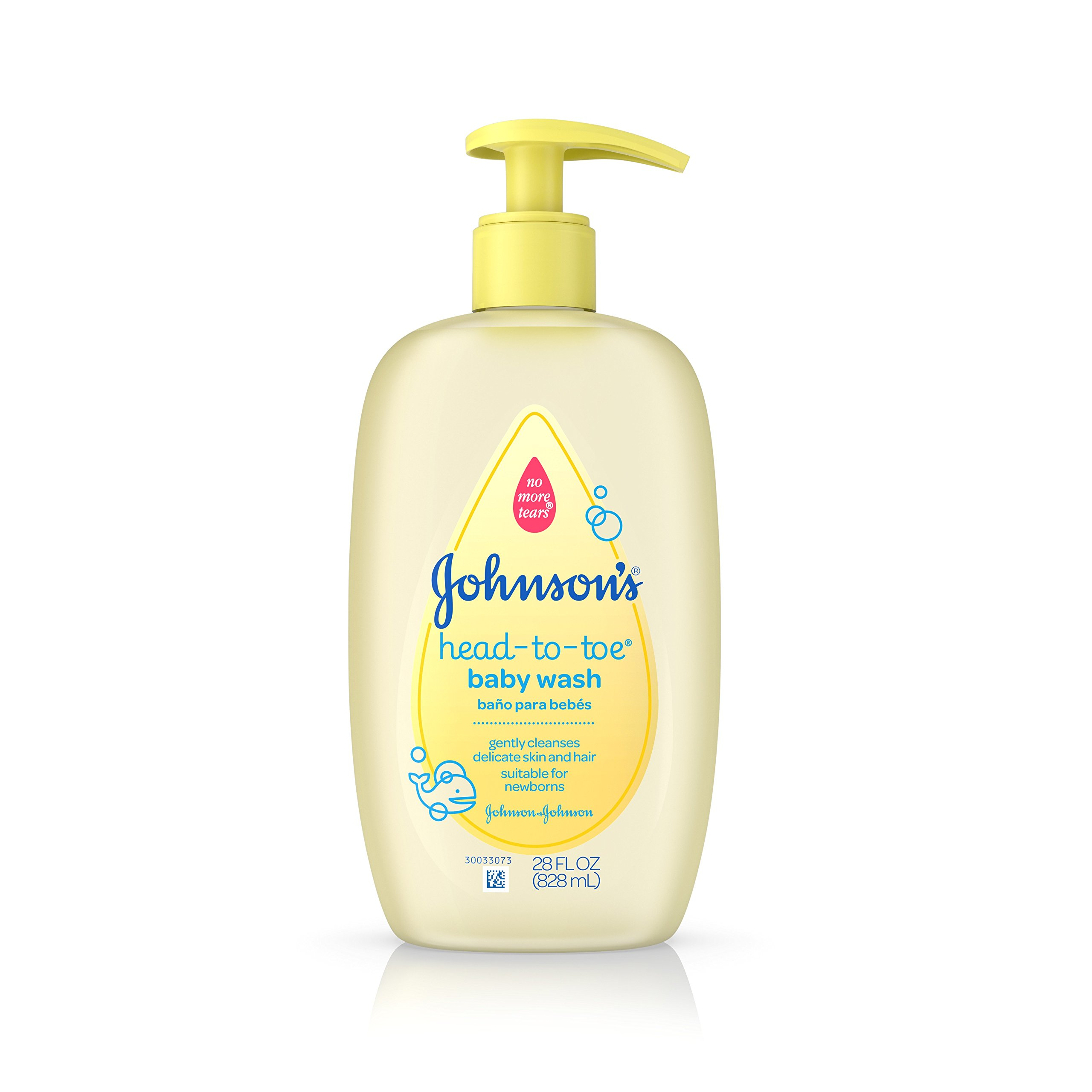 Johnson's Head-To-Toe Gentle Baby Wash, 28 Fl. Oz.