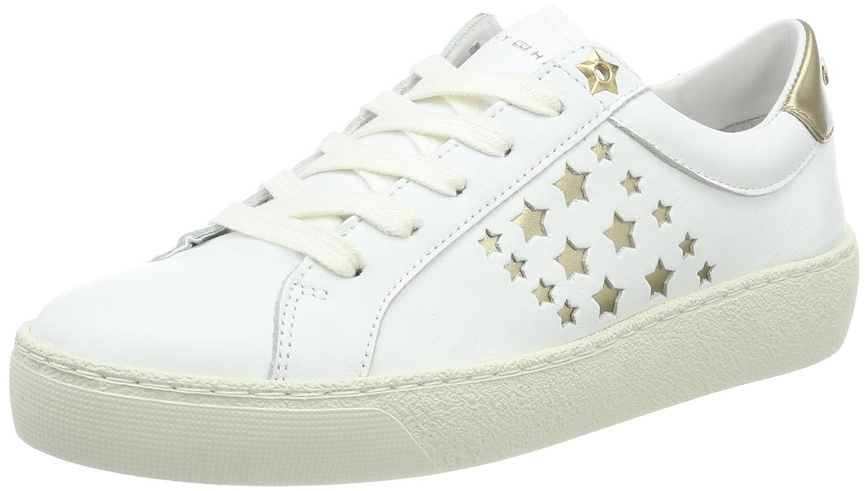 Tommy Hilfiger S1285uzie 2a4, Zapatillas para Mujer 38 EU|Blanco (White)