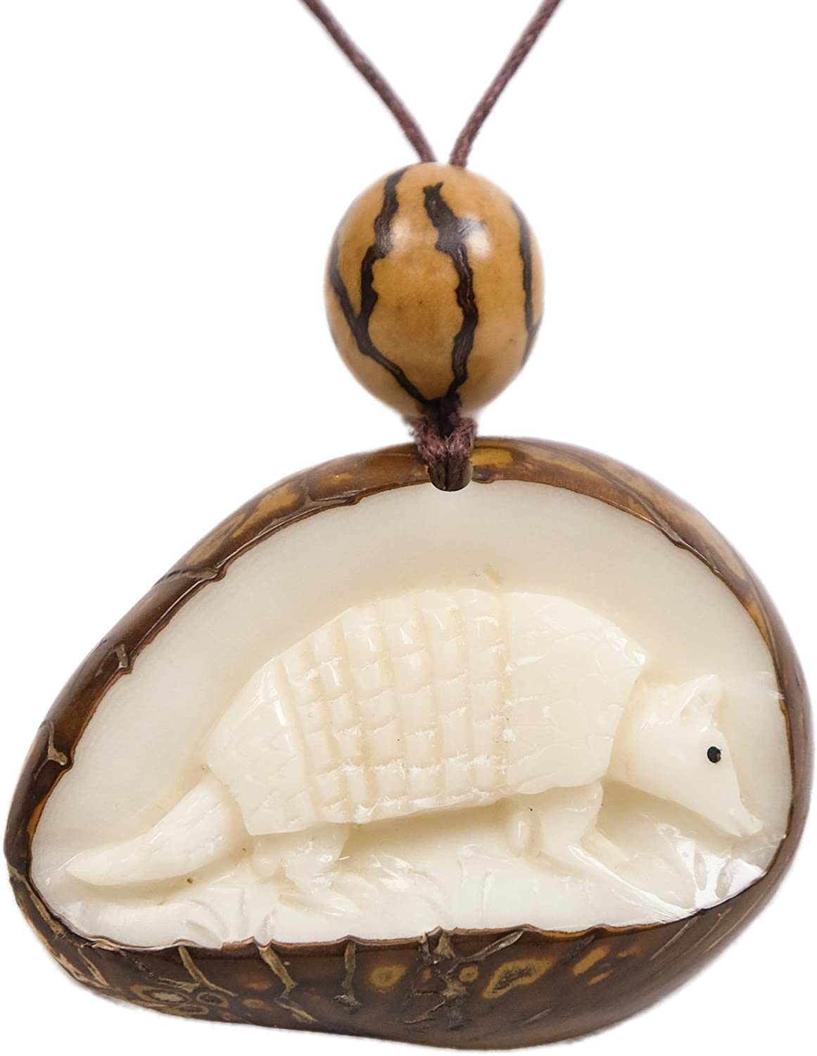 Tagua Nut Slices Produced in Ecuador  Fair Trade Jewelry /& Ornament Materials