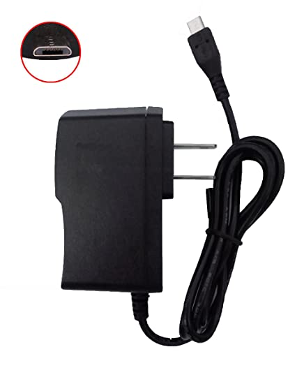 Micro USB 2A AC/DC Home Wall Charger Power Adapter for Verizon Qmv7a Qmv7b Android Tablet