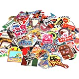 UTSAUTO Graffiti Stickers Decals Pack of 100 pcs Car Stickers Motorcycle Bicycle Skateboard Luggage Phone Pad Laptop Stickers and Bumper Patches Decals Waterproof (Type 5)