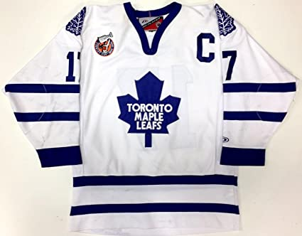 Wendel Clark Toronto Maple Leafs Stanley Cup 100th Pro Player Jersey Large  - 5 3022dd205