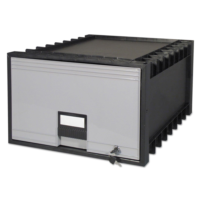 STOREX Archiv Schublade für juristische Dateien Aufbewahrungsbox, 61cm schwarz/Gray (stx61155u01C) STX61155U01C