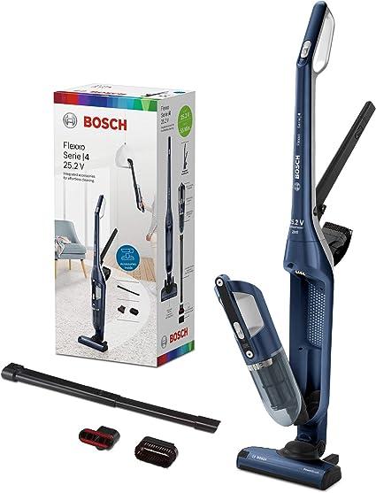 Bosch BCH3P255 Flexxo Serie | 4 Aspirador 2 en 1, sin cable y de mano, 25.2 V, color Azul: Amazon.es: Hogar