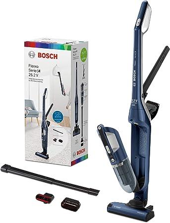 Bosch BCH3P255 Flexxo Serie   4 Aspirador 2 en 1, sin cable y de mano, 25.2 V, color Azul: Amazon.es: Hogar