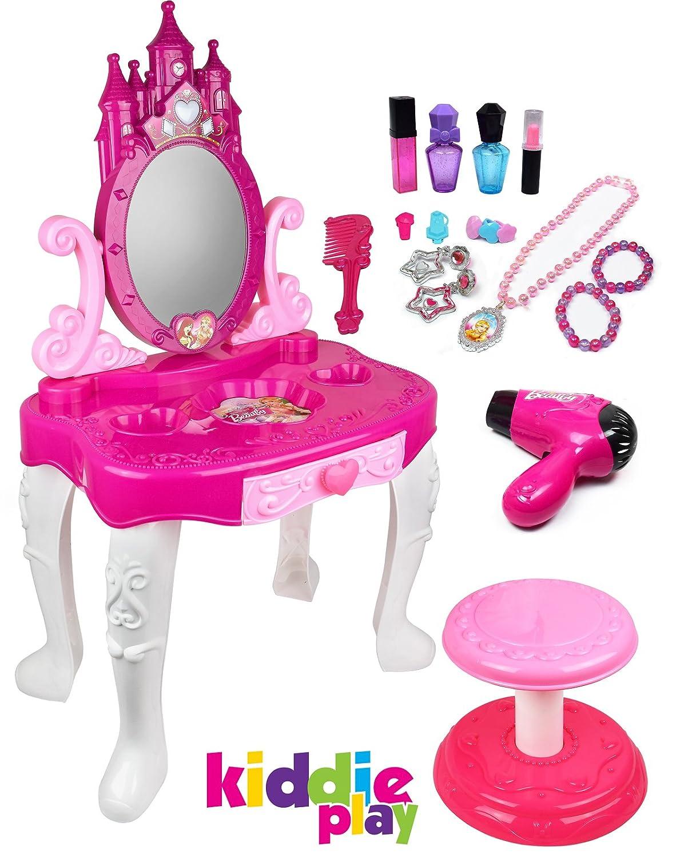 Kiddie Play Little Princess Kids Vanity Table And Chair