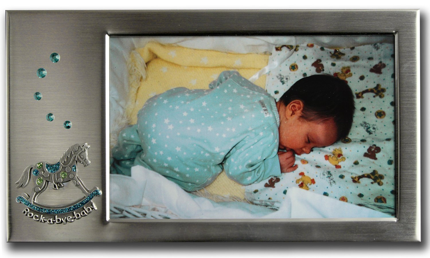 8 by 5-Inch Cathedral Art W384 Rock-a-Bye Baby Frame