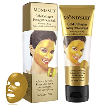 Amazon.com: Blackhead Remover Mask, Mendodo Gold Collagen Peeling Off Facial Mask Anti-wrinkle Shrinking Pores Brighten Skin Purifying and Deep Cleansing ...