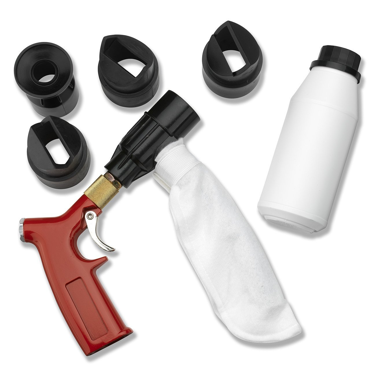 Neiko 30042A Spot Shot Air Sand Blaster Kit, Closed Cycle/Recycling Ridgerock Tools Inc.