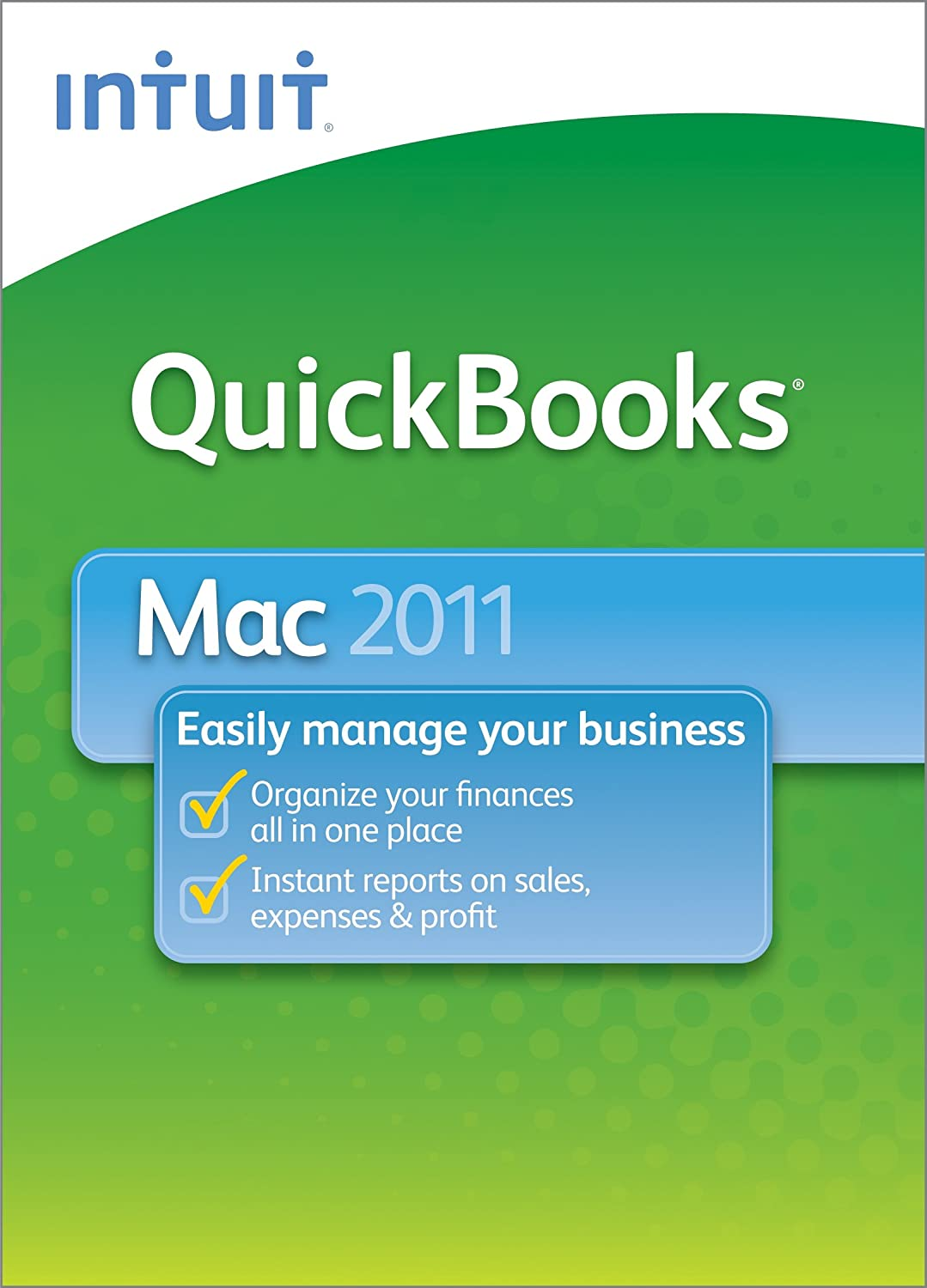 QuickBooks 2011 for Mac [Download] [OLD VERSION]