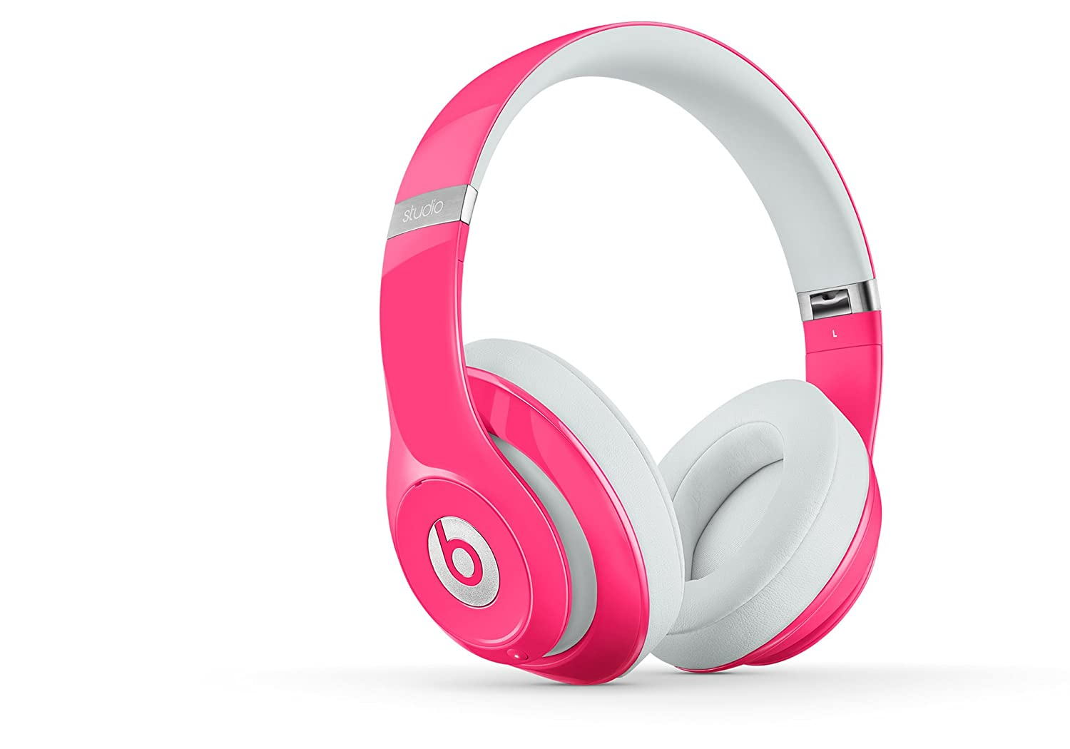 pink Beats Studio Over-Ear Headphones