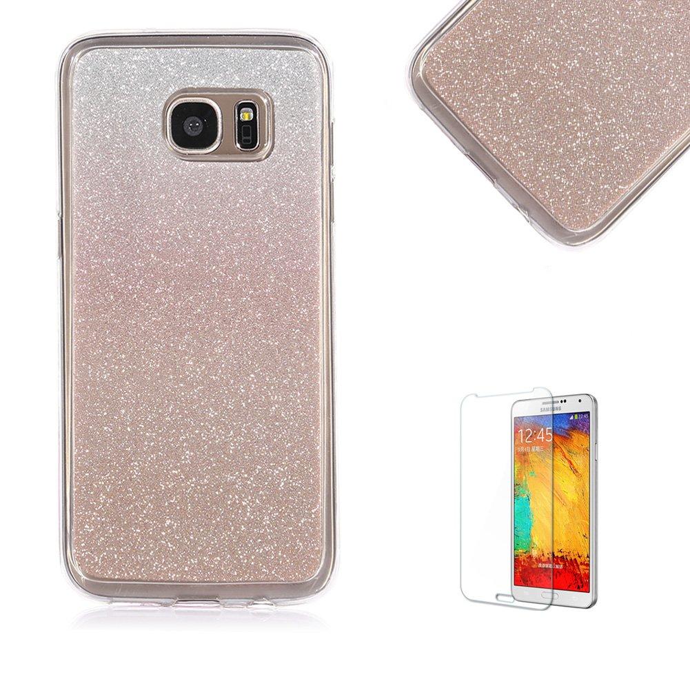 Best Galaxy Alpha G850 Case With Free Screen Protectorfunyye Soft Samsung Gel Tpu Slim Glitter
