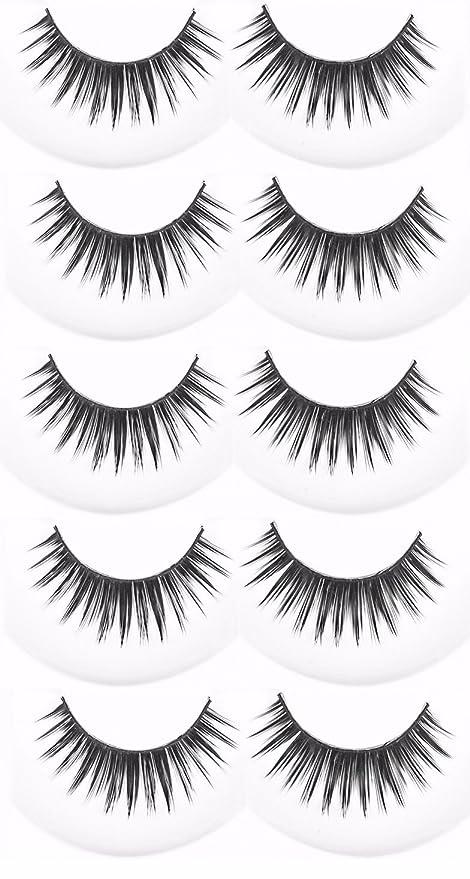 Buy Fok Soft Natural Black Thick Long False Eyelashes Makeup