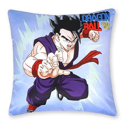 CoolChange Funda de cojín de Dragon Ball 50x50cm, Tema: Son-Gohan