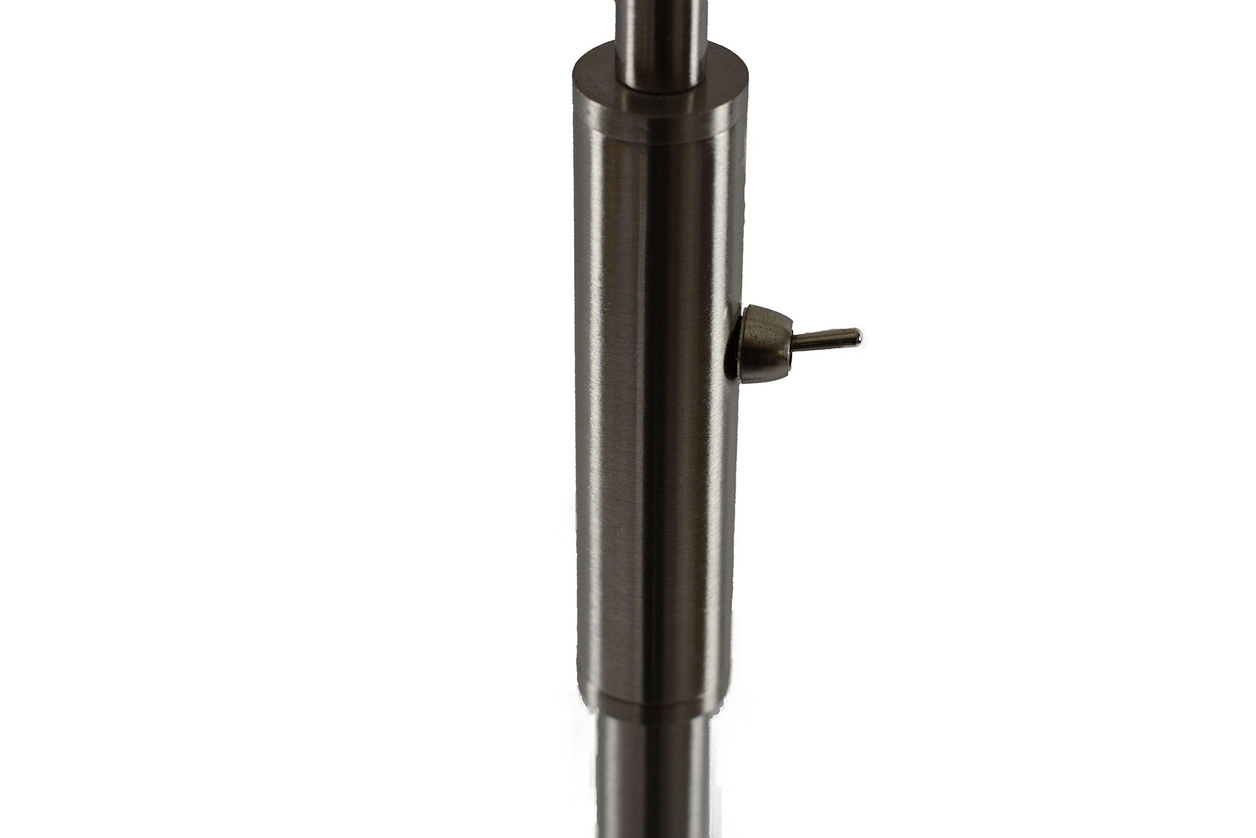 Daylight24 402071 15 Focus Adjustable Beam Led Floor Lamp