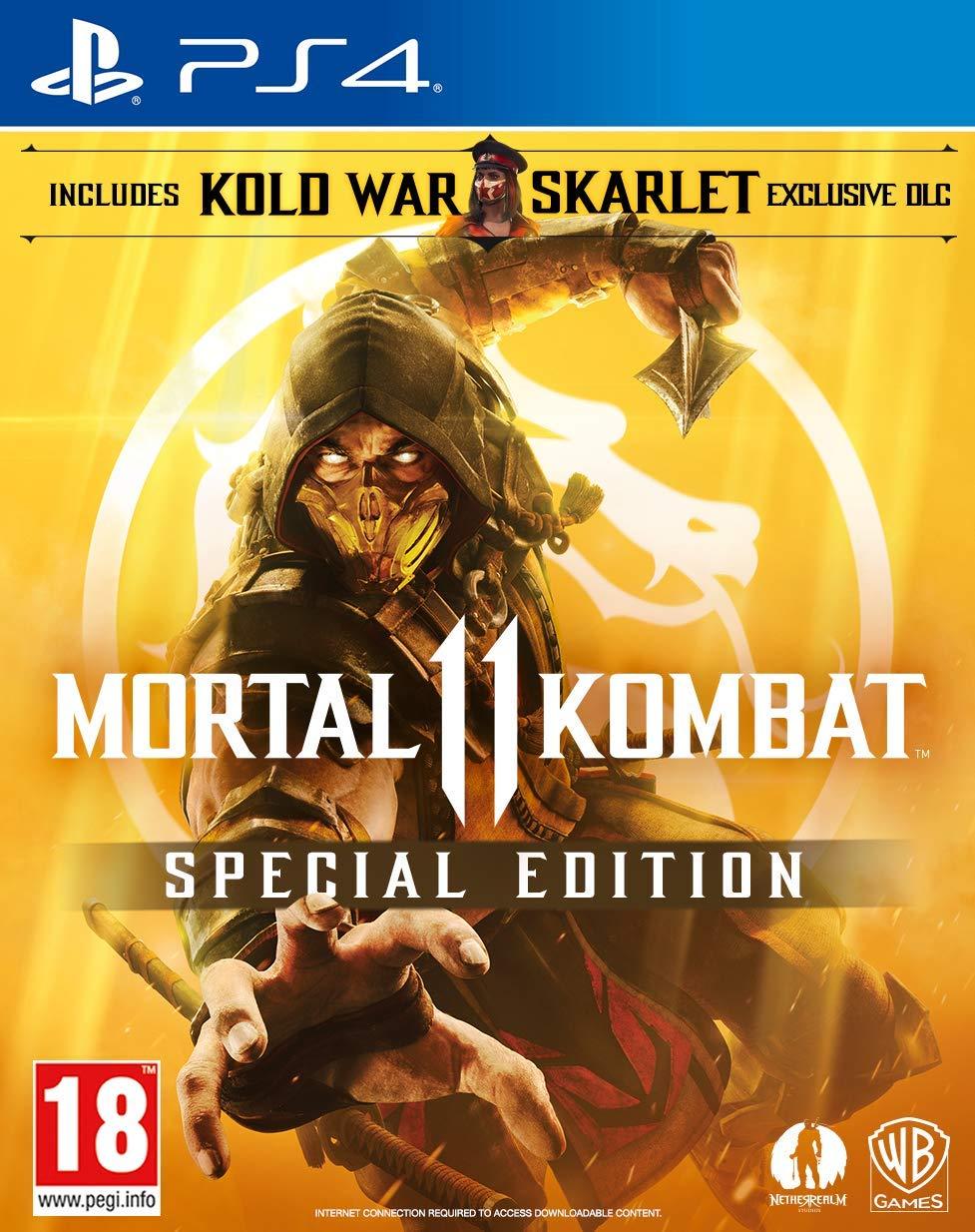 Mortal Kombat 11 Special Edition (Amazon Exclusive) (PS4): Amazon co