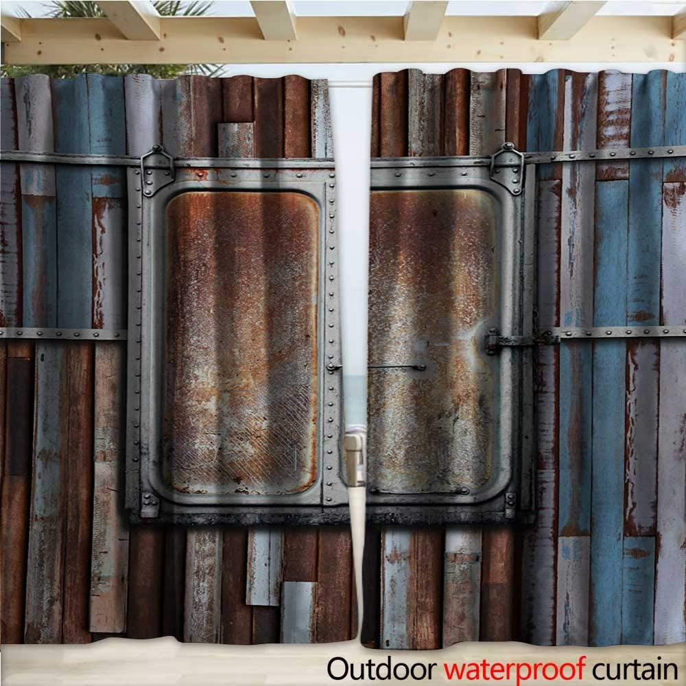 warmfamily - Cortina rústica para pérgola, diseño histórico artístico Italiano: Amazon.es: Jardín