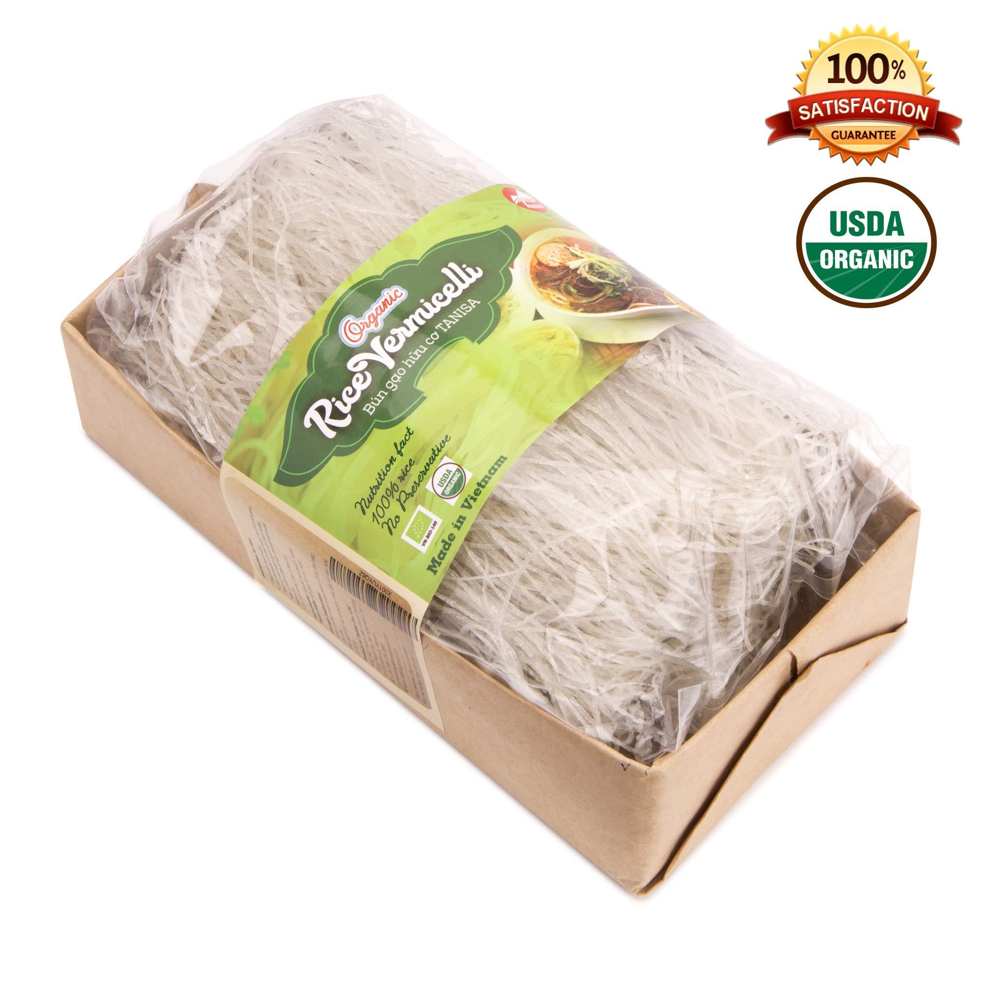 Amazon.com : Tanisa Organic Spring Roll Rice Paper Wrapper
