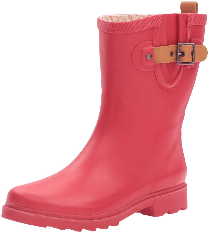 e4d06446e640 Chooka Women s Women s Women s Mid-Height Rain Boot B01BUE23HM 8 B(M ...