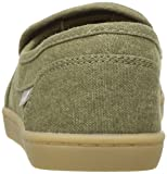 Sanuk Kids Girls' Lil Pair O DICE Loafer, Olive, 03
