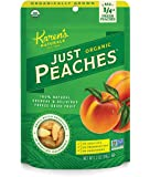 Karen's Naturals Just Tomatoes, Organic Just Peaches 1.2 Ounce Pouch (Packaging May Vary)