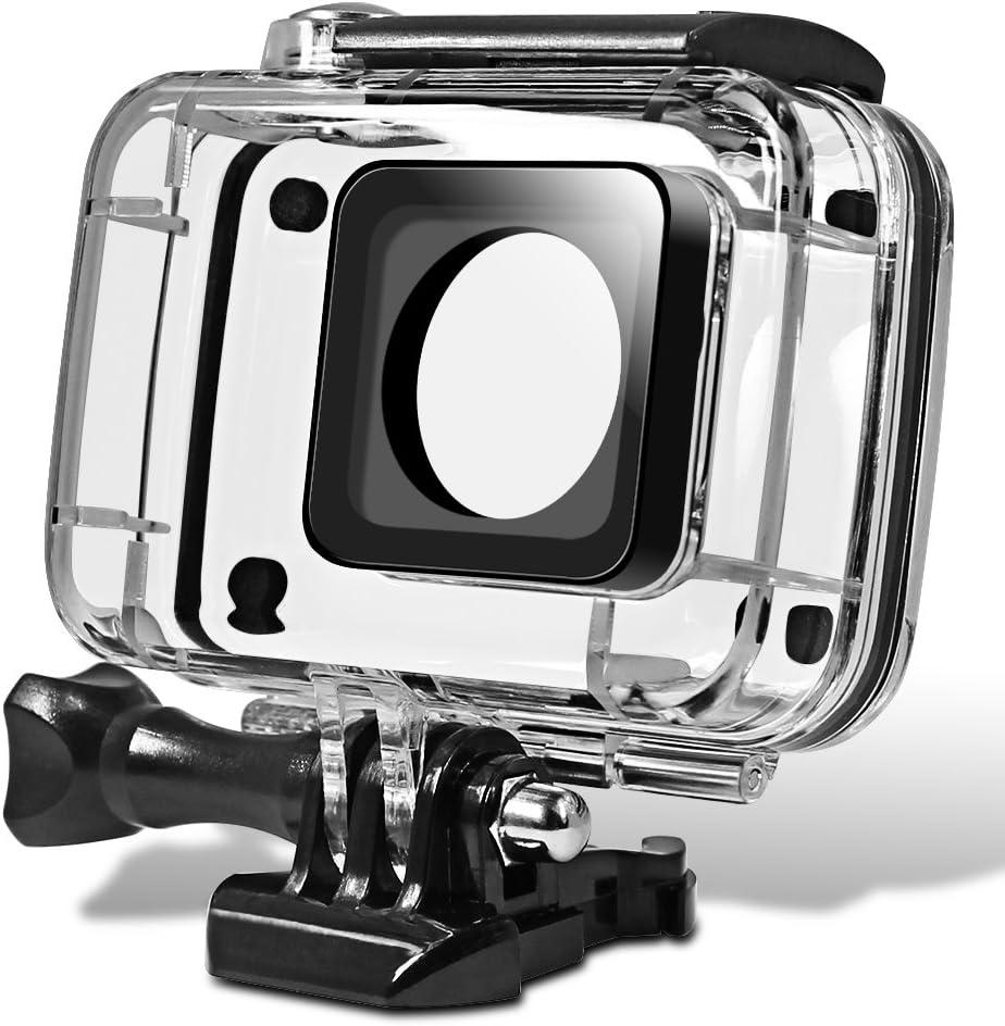Senhai Caparazón Protector Impermeable para Yi Action Camera 2, Reemplazo de Buceo de Protección Vivienda 45m del Carcasa y Funda con El Soporte para Xiaomi Yi 4K Yi 2 Xiaoyi II