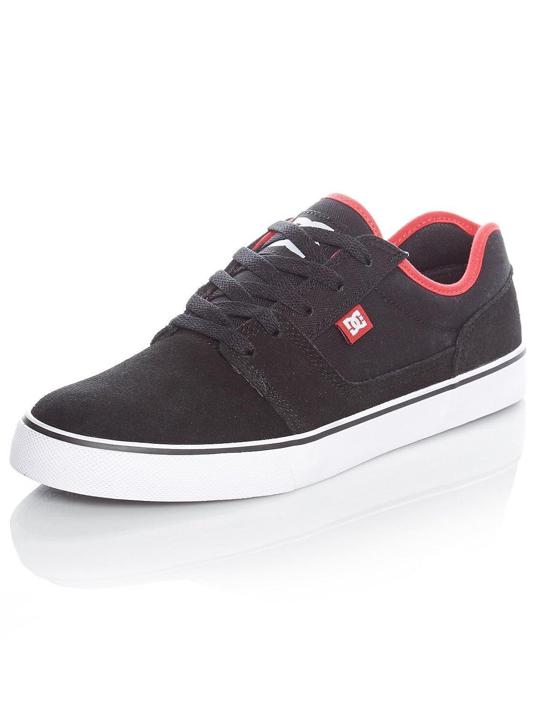 DC TONIK Unisex-Erwachsene Sneakers  9.5 UK Black/Atl Red/Black
