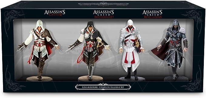 Ubisoft - Pack De 4 Figuras Ezio Auditore De Assassins Creed ...
