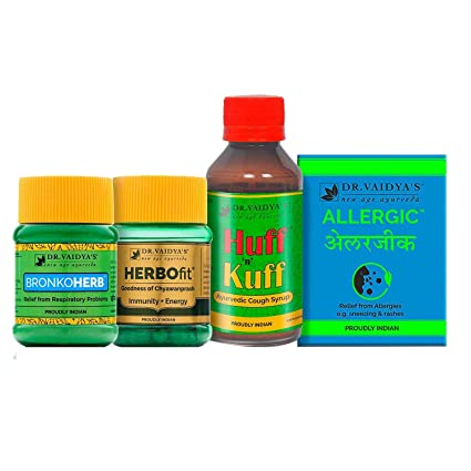 Buy Dr  Vaidya's Asthma Combo Pack 500 g -1 Bottle of