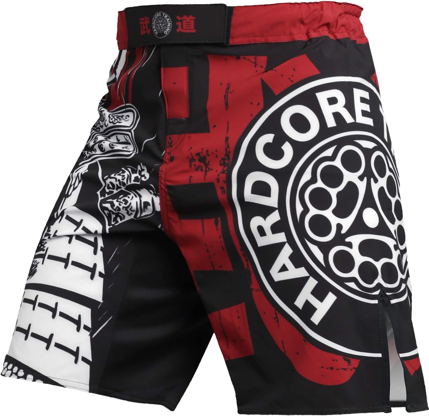 Hardcore Training Short for Men Budo Fighting Shorts Cage Fight Boxing No-Gi Fitness MMA BJJ Fitness dentrainement Homme Boxe Cage Fight Muay Thai
