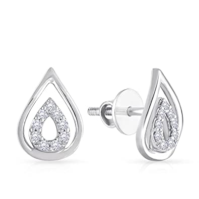 earrings item stud ear store ct piece diamond en one world platinum d