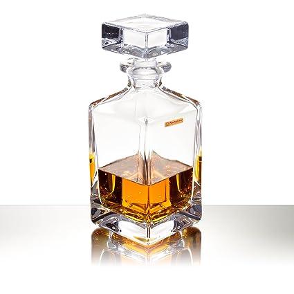 Whisky Jarra de Nachtmann – Julia: – Jarra de cristal para whisky con corcho –