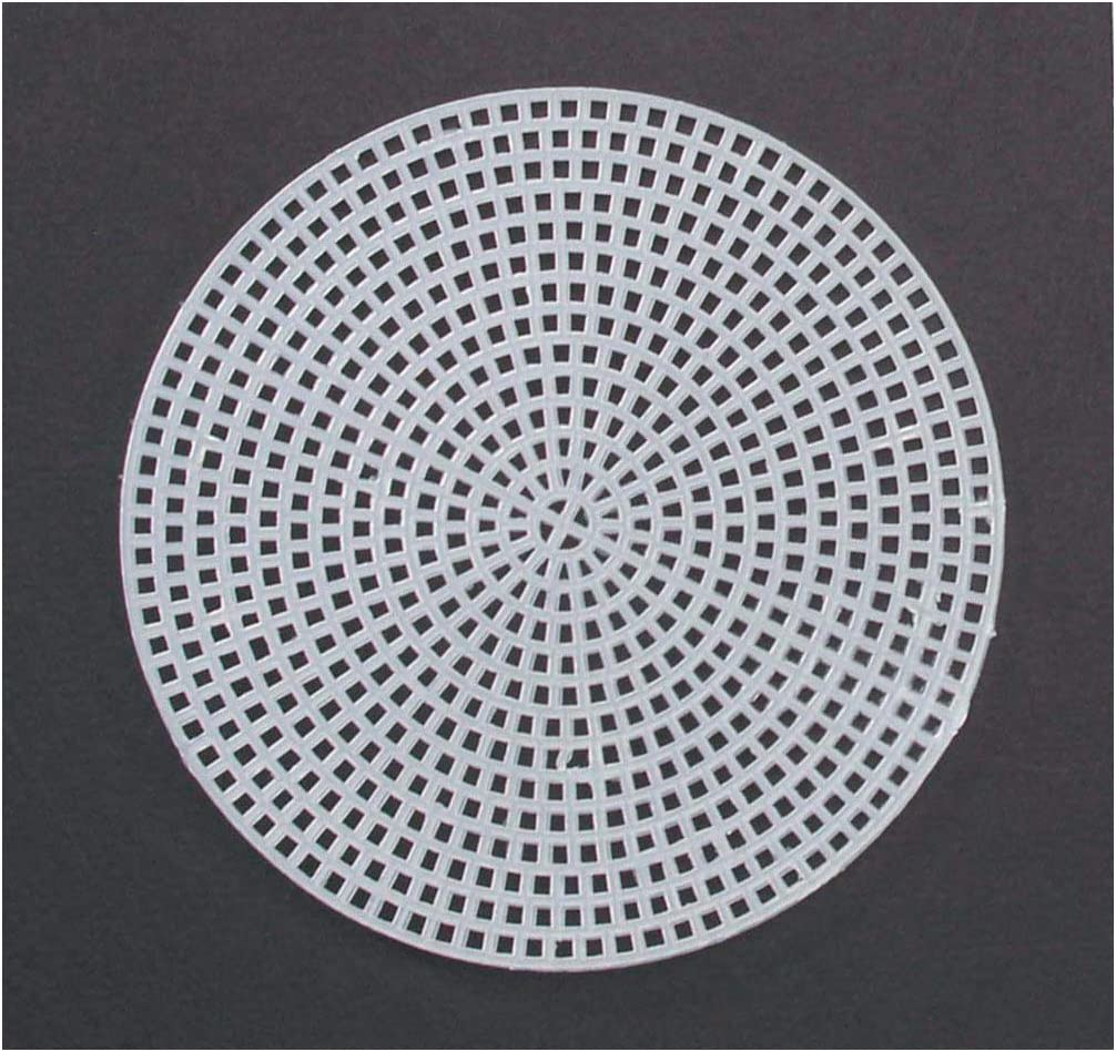 Darice Plastic Canvas 7 Count 4 Circles 10//Pkg Clear 33004 6-Pack Bulk Buy