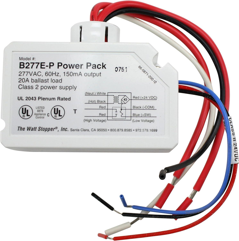 wattstopper wiring diagrams amazon com wattstopper b277e p power pack 277v 20 amps home  b277e p power pack 277v 20 amps