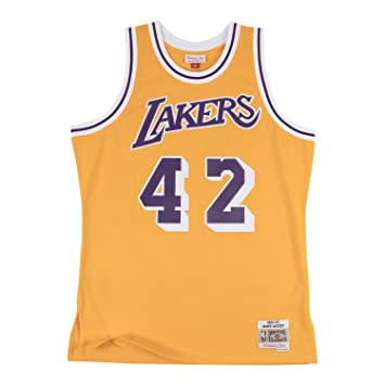 26e121cca64 Mitchell   Ness James Worthy  42 Los Angeles Lakers 1984-85 Swingman NBA  Jersey