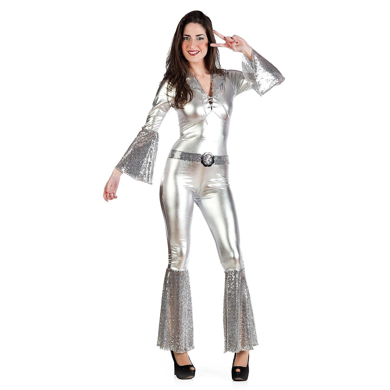 Sexy disfraz traje de señora diva de discoteca para fiestas ...