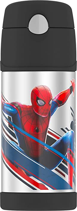 Thermos F4016SP6 12 OZ Bottle, 12 Ounce, Spiderman
