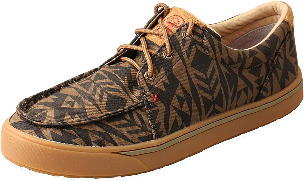 Twisted X Men's ECO Hooey C Toe Casual Active Loper Lace Up Shoes Multi Serape