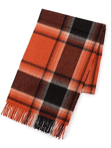 Wool Angora Scarf 118-36-0053: Orange