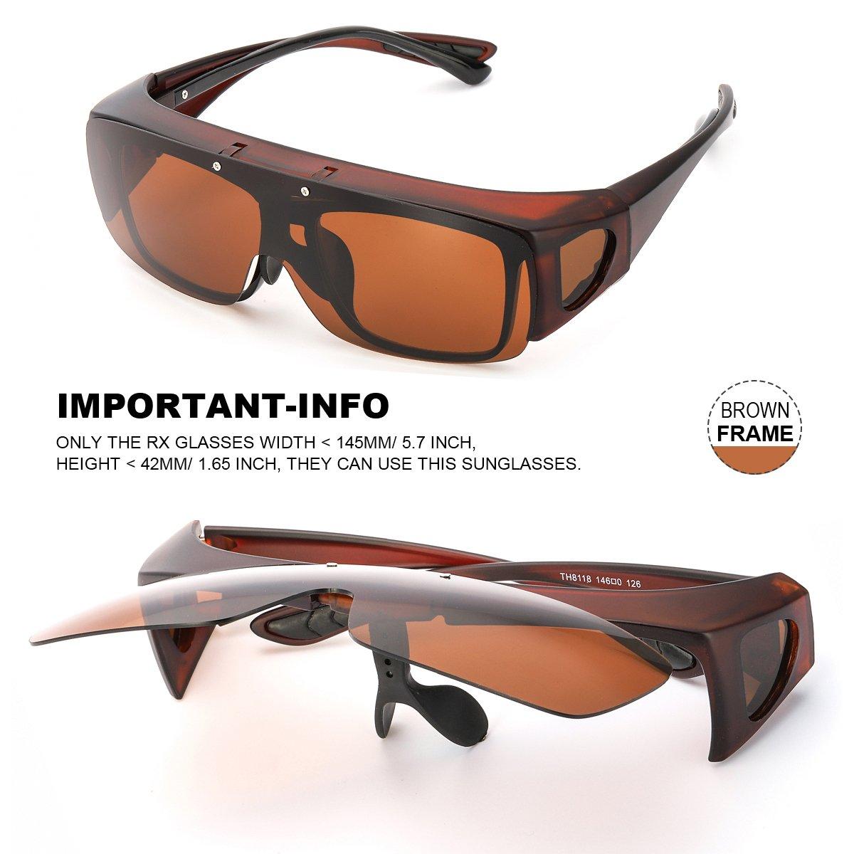 SOL Überzieh-Sonnenbrille für Herren und Damen | Sonnen-Überbrille ...