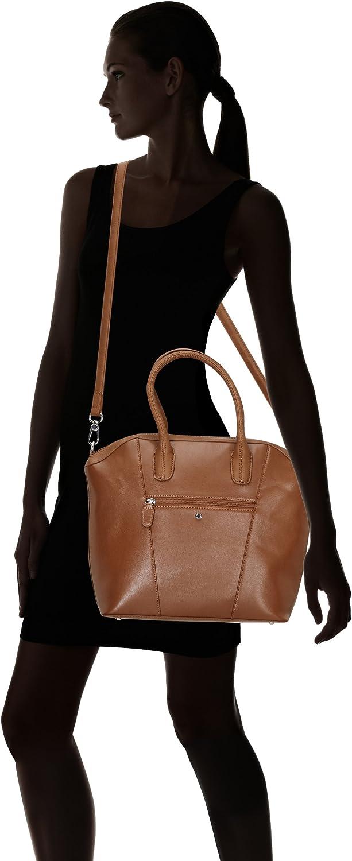 Tamaris Florence Handbag 1421141-001 Damen Henkeltaschen 40x48x10 cm (B x H x T) Braun (Nut Antic 441)