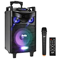 Deals on Moukey Karaoke Machine,520 Watt Peak Speaker System-PA Stereo