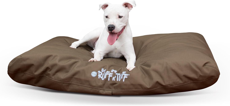 Amazon Com K H Pet Products K 9 Ruff N Tuff Pet Bed Large Chocolate 36 X 48 Pet Supplies