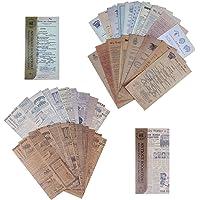 Scrapbook Materiaal Papier Set Vintage Sticker Scrapbookpapier Stempel Huidige Gebeurtenissen Decoratief Papier voor…