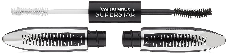 The L'Oréal Paris Cosmetics Voluminous Superstar Mascara Washable Blackest Black, Our Review