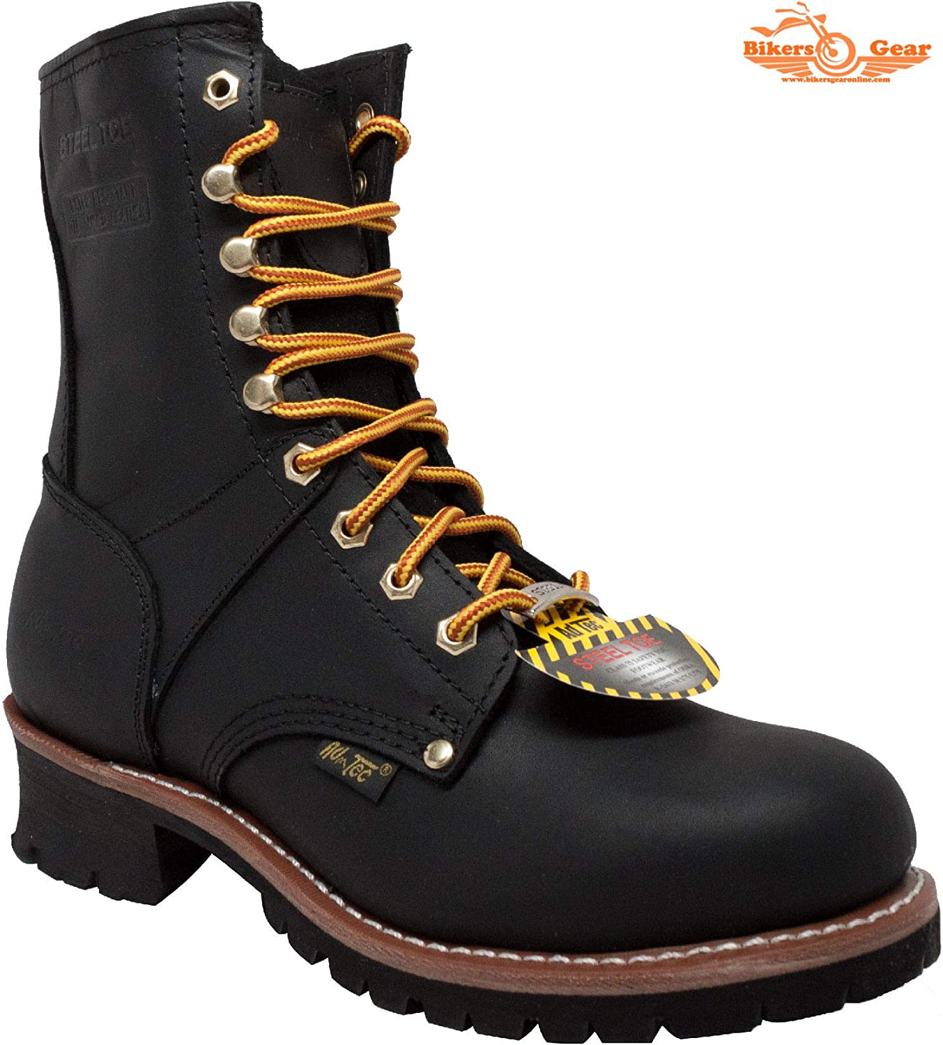 Men's 9 inch Super Logger Leather Boots