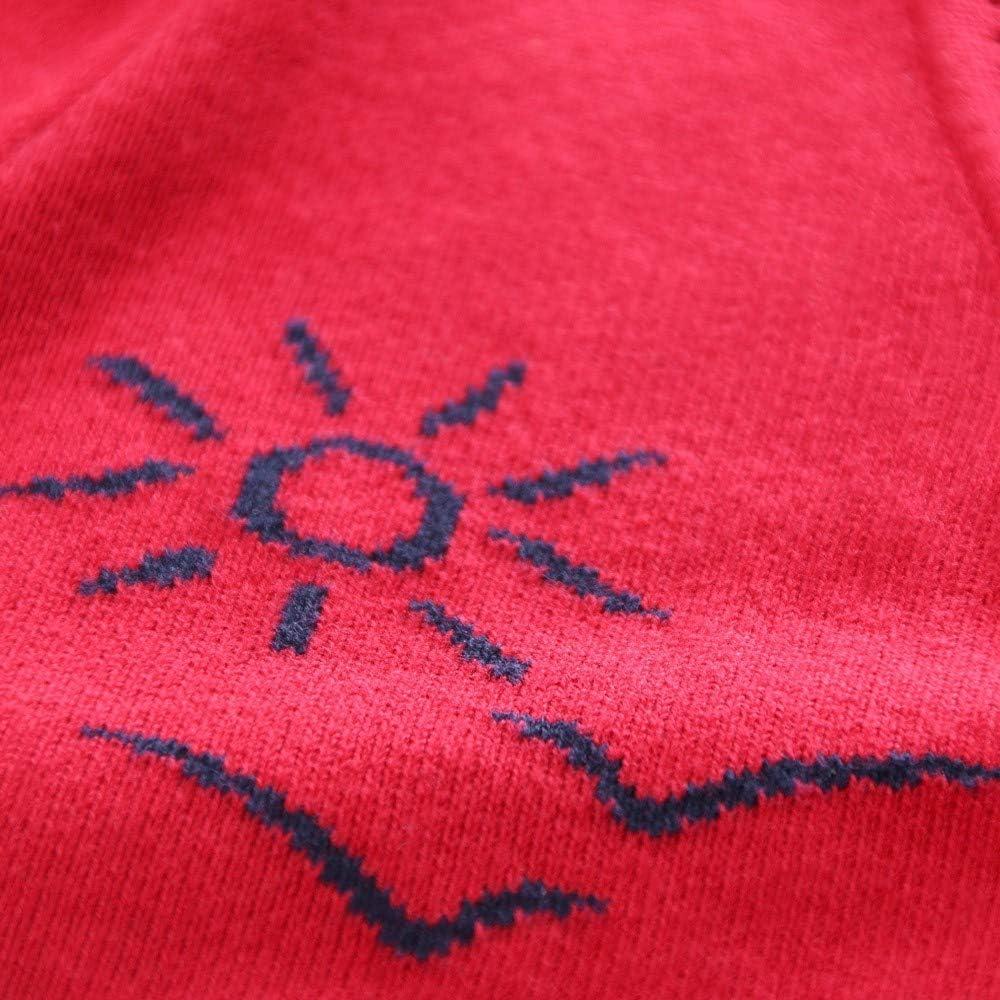 Amaone Baby Sweater Knitting Patterns Girl Boy 18Months-5Years Old Winter Warm Dinosaur Kids Unisex Button Cardigan Jacket Clothes